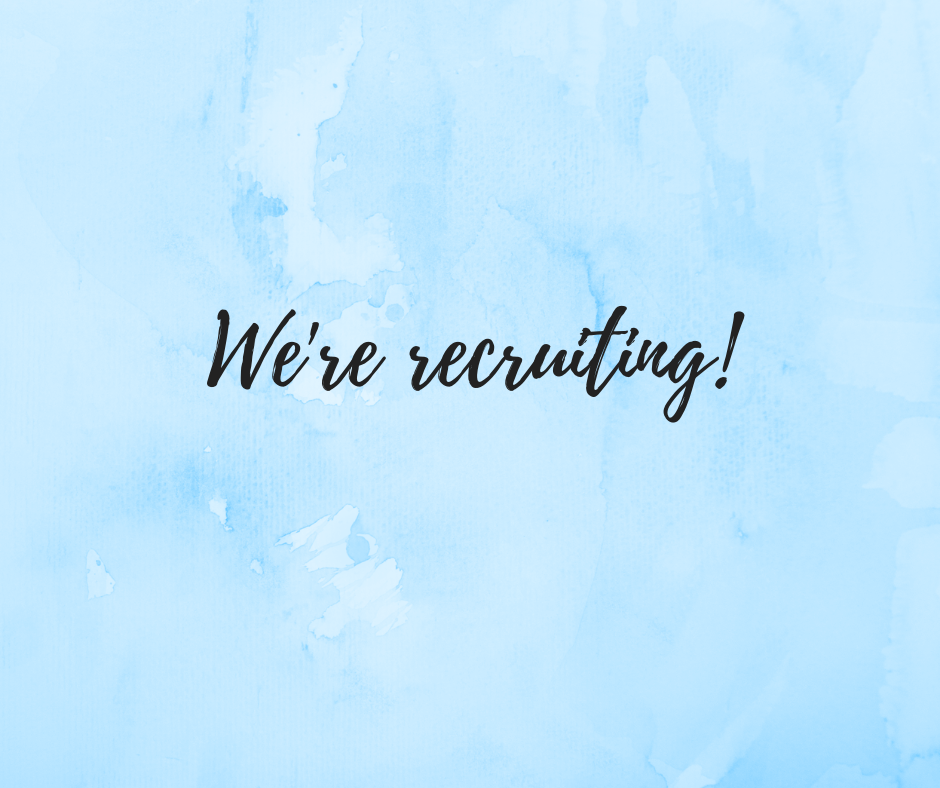 We're recruiting! (1)